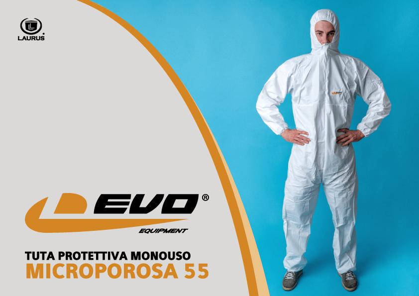tuta protettiva L-EVO